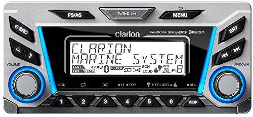 clarion marine stereos Clarion M606 Marine Audio Radio