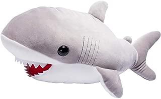 LALA HOME Large Great White Shark Stuffed Animal Giant Hugging Plush Soft Pillow Ocean Toy 22 Inch/56 Centimeter