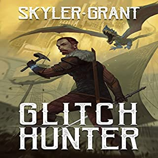 Glitch Hunter audiobook cover art