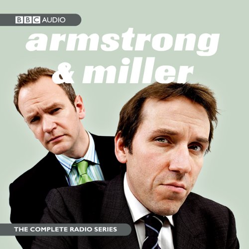 Armstrong & Miller audiobook cover art