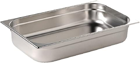 Vogue RVS 1/1 Gastronorm Pan 9Ltr/65mm Diep Voedsel Container