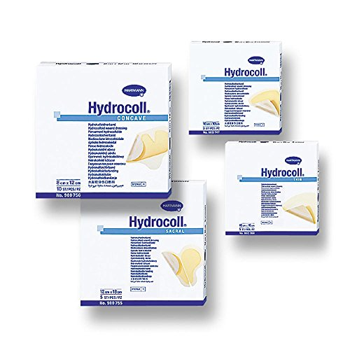 Hartmann Hydrocolloid-Verband, Hydrocoll thin 7,5 x 7,5 cm, 10 Stück