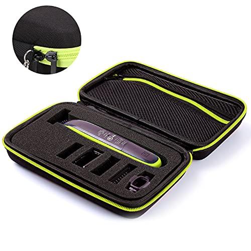 Trintion Tasche kompatibel mit Phillips OneBlade - Schutzhülle für Rasierer, Trimmer - Reisetasche, Rasierer Maschine Case Schutz-Hülle Etui Tragetasche (Nur Tasche)