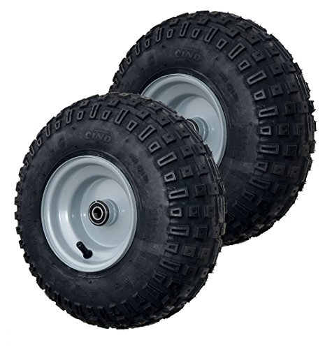 GoPowerSports Tire and Wheel Assembly, go-Kart/ATV, 145/70-6 (Set of 2)