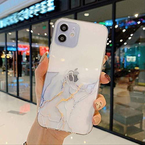 Funda para teléfono con Pintura de Acuarela para iPhone 12 Pro 11 Pro MAX X XR XS MAX 7 8 6s Plus SE 2020 Funda Trasera de TPU Suave Transparente a Prueba de Golpes para iPhone 6 o 6s IU2877