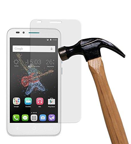 yayago Bildschirmschutzglas 0,26 mm Bildschirmschutzfolie für Alcatel One Touch Go Play Glasfolie Hartglas 9H (bewusst Kleiner als Das Bildschirm, da Dieses gewölbt ist)