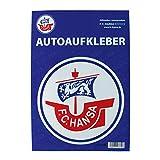 FC Hansa Rostock Autoaufkleber 'Logo' groß offizielles Lizenzprodukt