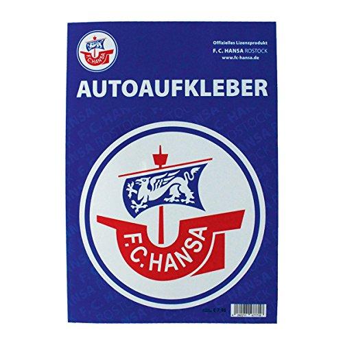 FC Hansa Rostock Autoaufkleber