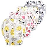 Flyish Baby Mädchen Trainerhosen Mädchen Training Unterwäsche Kleinkinder Windelhose Durchbrochene Töpfchen Trainingshose, Mädchen, 2 Jahre