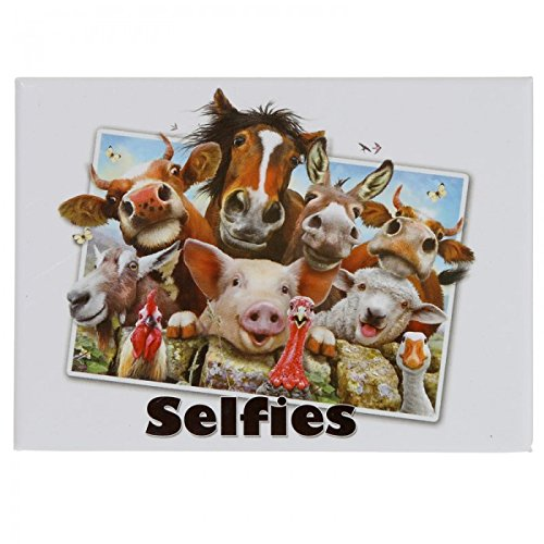 Calamite e magneti STOCK 5 PEZZI Selfie di Animali -Animali della Fattoria