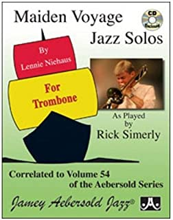 Maiden Voyage Trombone Solos - as played by Rick Simerly (Book & CD Set)
