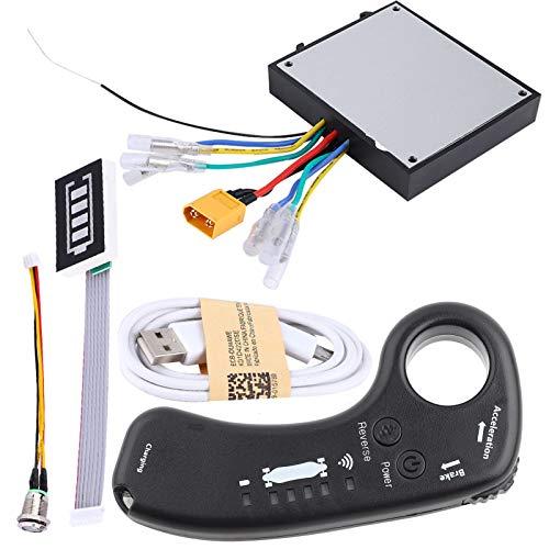 DIY Kit ESC de monopatín eléctrico, 4 modos de velocidad Indicador LED...