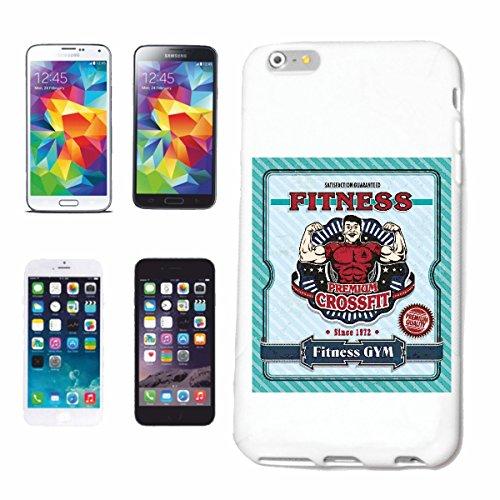 Reifen-Markt Hard Cover - Funda para teléfono móvil Compatible con Apple iPhone 5C Gimnasio de Fitness Bodybuilding Gym Peso DE FORMACIÓN Gym Muskelaufbau SUPLEMEN
