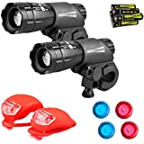 Vont Bike Light, Comes with Free Tail Light,...
