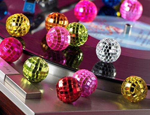 naninoa SPIEGELKUGEL 24 St. 20 mm 2 cm. Mix. Spiegelkugeln, Diskokugel, Spiegel Kugel GEMISCHT
