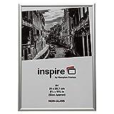 The Photo Album Company PAAFA4B - Marco de fotos (aluminio satinado), plata, metal