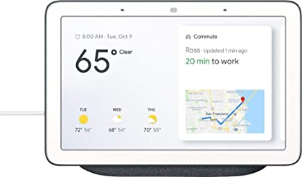 Google - Home Hub with Google Assistant - Charcoal