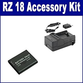 Syenrgy Digital Camera Accessory Kit Works with Pentax Optio RZ 18 Digital Camera includes: SDDLi92 Battery, SDM-192 Charger