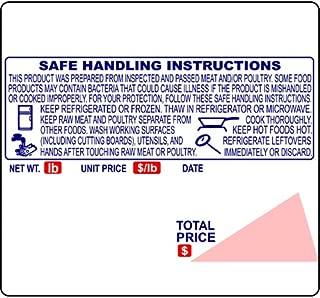 "Ishida IL-4164, Safe Handling, UPC, 64 mm x 59 mm (2.520"" x 2.323""), 625 Labels/Roll, 12 Rolls/Case, 14 lb/Case, 9 x 9 x 9 in. Case (23 x 23 x 23 cm Case.)"