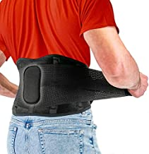 Back Brace by FITGAME – Lower Back Support Belt for Pain Relief | Sciatica, Herniated Disc and Scoliosis for Men and Women – Adjustable Straps and Removable Lumbar Pad (X-Large 37 - 42 inch)