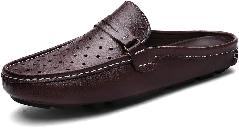 Mzq-yq Mens Lightweight Non Slip On Garden Kitchen Clogs,Beach Sandals, Garden shoes,Walking Summer Sandals