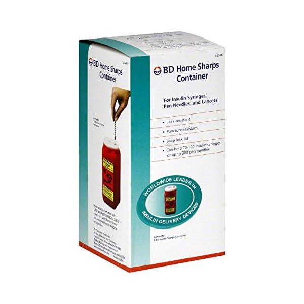 buy BD Home Sharps Container – 1 ea Diabetes Care