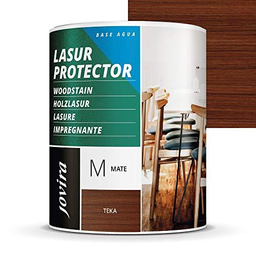 LASUR PROTECTOR AL AGUA MATE Protege, decora y embellece todo tipo de madera. (750 ml, TEKA)