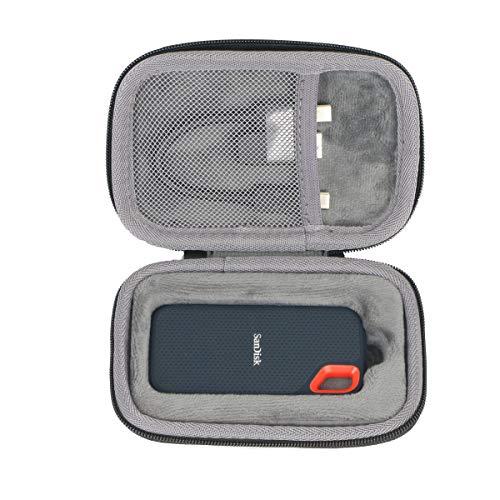 Hart Reise Schutz Hülle case Tasche für SanDisk Extreme Portable SSD 250 GB/500 GB/1 TB/2 TB von co2CREA