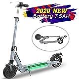 Monopattino Eletttrico Scooter E1, Batteria per Scooter Elettrico 7.5Ah Lunga Autonomia 30km, 350W...