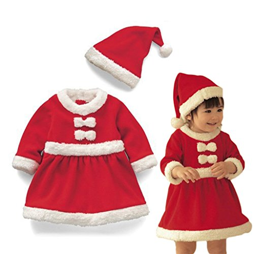 Vine Babbo Natale Costume Outfit maschi Neonati Bambini Outfits Xmas Natale