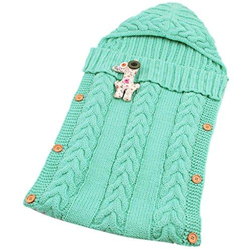 OVERDOSE Baby-Nette Decke Wickeln Schlafsack Kids Toddler Sleep Sack Kinderwagen Wrap