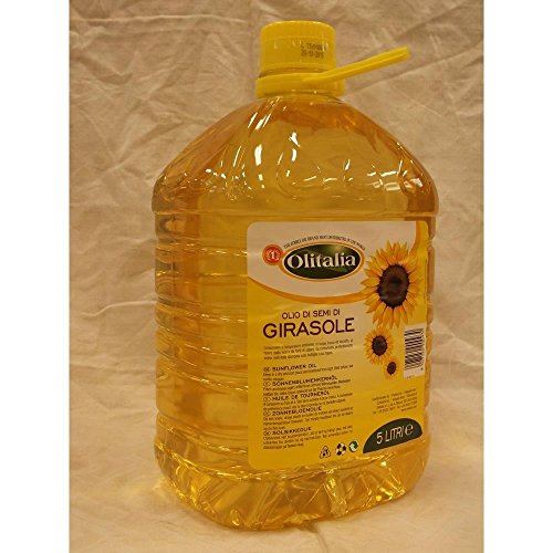 Olitalia Olio di Semi di Girasole 5000ml Kanister (Sonnenblumenöl)