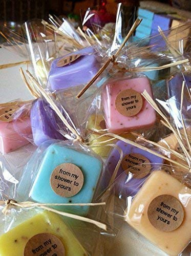 Wedding Favors: 15 Mini Soap Favors for Wedding Favors, Bridal Shower Favors, or Baby Shower Favors