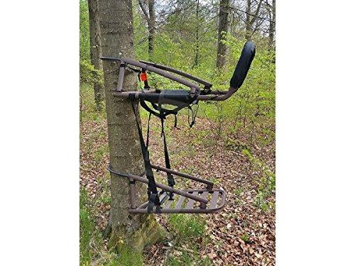 Sutter Asiento de Escalada transportable & Puesto de Caza Colgante - Asiento Elevado para árboles