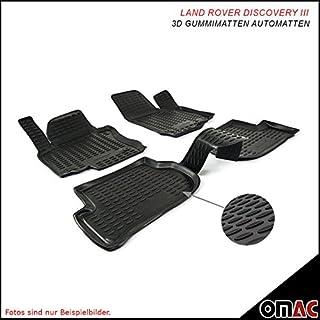 Omac GmbH SKODA SUPERB Tappetini in gomma Polymer alta 3d gomma tappetini per auto a partire dal 2015