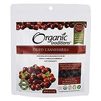 Organic Traditions ドライクランベリー 4オンス 113 g