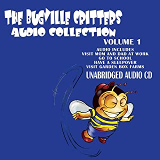 The Bugville Critters Audio Collection 1 audiobook cover art