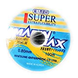 90 Degree Imported Nylon Monofilament Super Strong Fishing Line Reel with Extra Flexibility, 100 m...