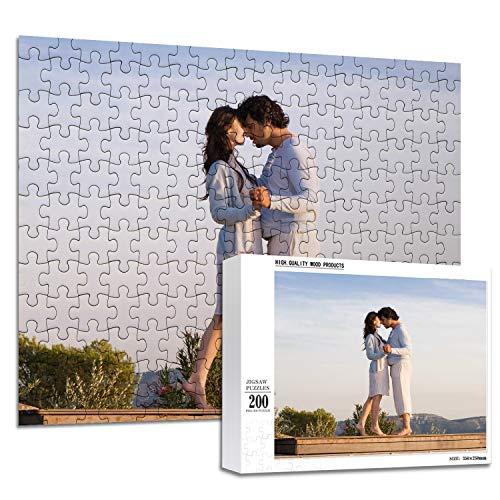 haellerry Puzzle Personalizzati da Foto 1000 500 300 200 Pezzi Puzzle Personalizzati per Immagini per Adulti e Adolescenti (200 Pezzo)