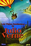 Fantastic Trips of Jules Verne (6 Cartoons) - 3-DVD Box Set ( Around the World in 80 days / Trip to the Center of the Earth / The Mysterious Island / Caesar Bell / The Raft / The Star of the South ) ( La Vuelta al Mundo en 80 dias / Viaje a