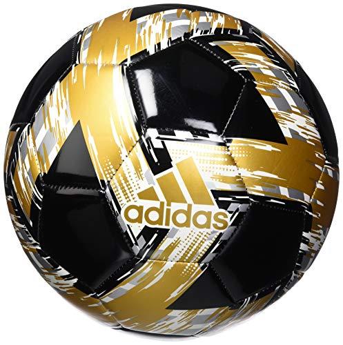 adidas mens Capitano Club Ball Black/White/Gold...