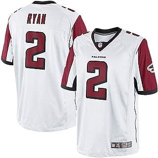 Matt Ryan Atlanta Falcons #2 Youth Name Number Football Player Jersey T-Shirt Team Sportswear for Men Women Boys