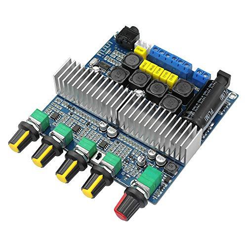 BOINN TPA3116D2 DC12V-24V 4.2 Subwoofer Placa de Amplificador de Audio 2.1 Canales de Potencia 2 X 50W + 100W TPA3116 Amplificador