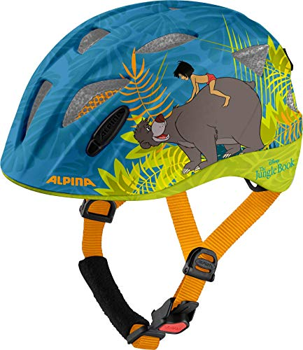 Alpina Unisex - Kinder, XIMO DISNEY Fahrradhelm, Jungle Book, 49-54 cm