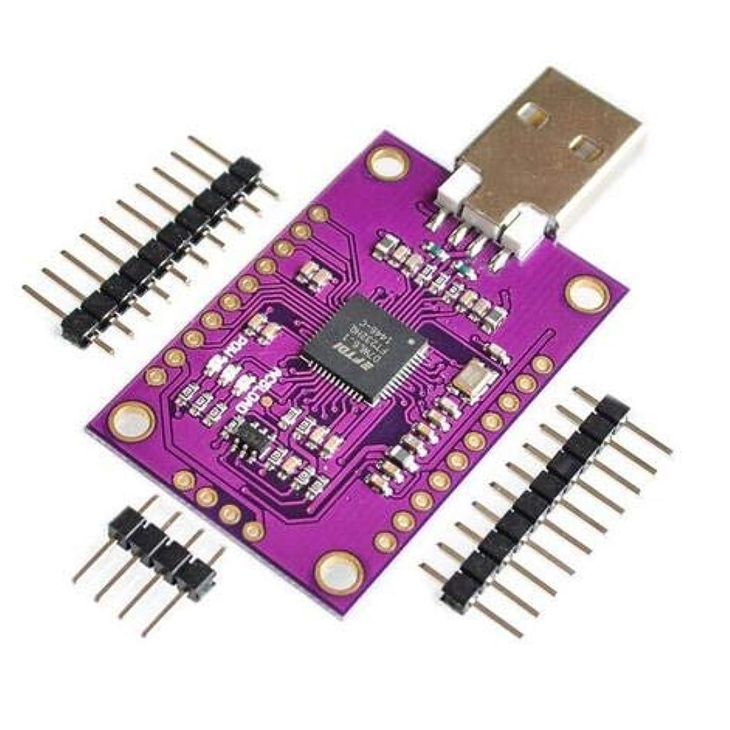 隣接する配送視聴者WillBest CJMCU FT232H Multifunction High-Speed USB to JTAG UART/FIFO SPI/ I2C Module