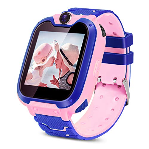 Kids Smartwatch with SIM Card Included,Two-Way Phone Call Games Camera...