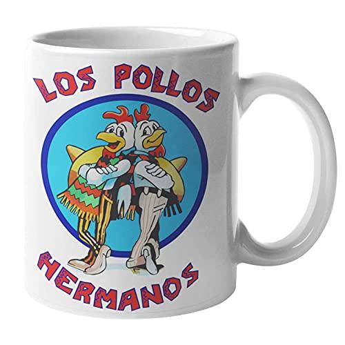 Tazza Colazione Mug Divertente Carina Idea Regalo Con Stampa Los Pollos Hermanos