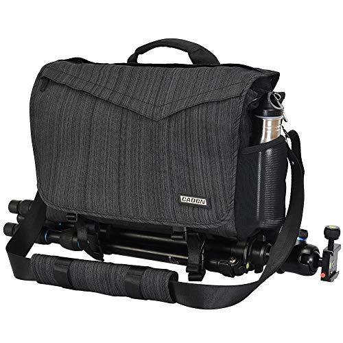 LANZHEN-RY Durable Imperméable durable Sling reflex numérique épaule Croix Sacs for appareils photo sacs tactiques Porte-monnaie (Color : Black, Size : S)