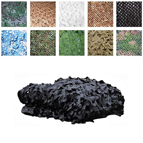 Hunt Shooting Range Camping Tent Camouflage Net, Fire Retardant Military Camouflage Net Reinforced Desert Oxford Fabric/Camouflage Net Shade Cover for Garden Greenhouse Pergola for Camping Hidden Hu