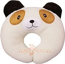 My NewBorn Baby U Shaped Neck Support Pillow for Nursing/Feeding (U Shape Puppy-Baby-Cream)